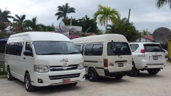 Montego Bay airport transfer bus