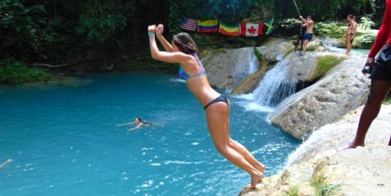 Irie Blue Hole Secret Falls