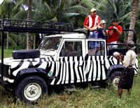 4 Wheel Drive Vehicle Safari