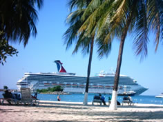 Cruise Ship in Port Ocho Rios
