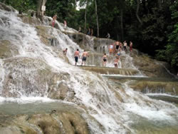 Dunns River Falls, big fall