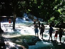 Dunns River Falls, small fall