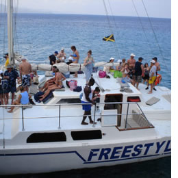 Freestyle Sailing Cruise Boat