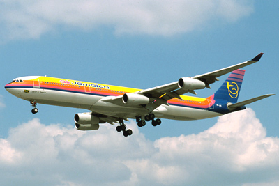 Jamaica Airplane