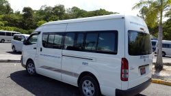 Discovery Bay airport transfer bus