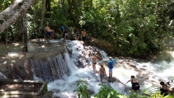 Top of Dunns River Falls